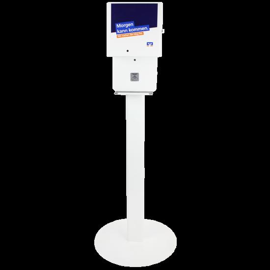 Berührungsloser Desinfektionsmittelspender Dispenser T Modell Premium
