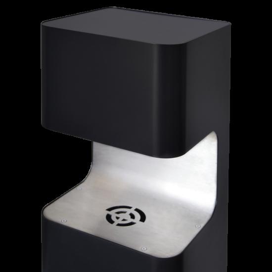 Produktbild Dispenser U Modell 5 Liter schwarz